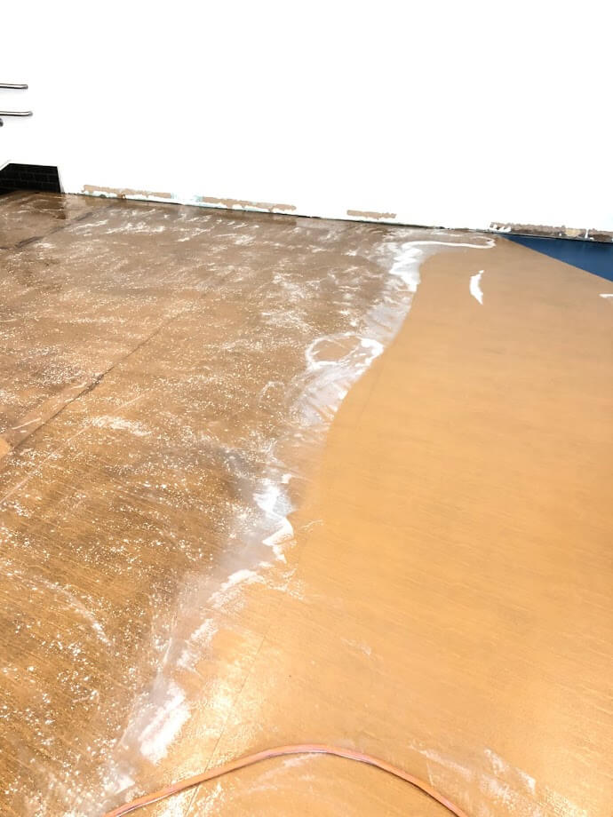 Floor Scrub Before and After 4